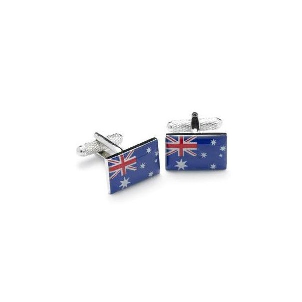 Australia Flag Cufflinks with Box