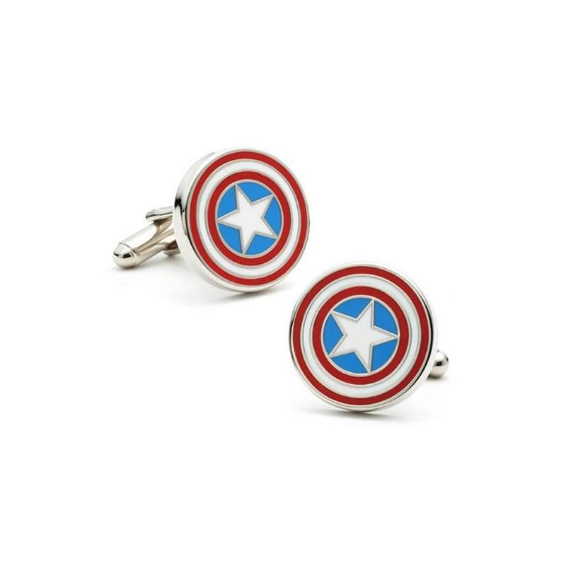Captain America Cufflinks with Box