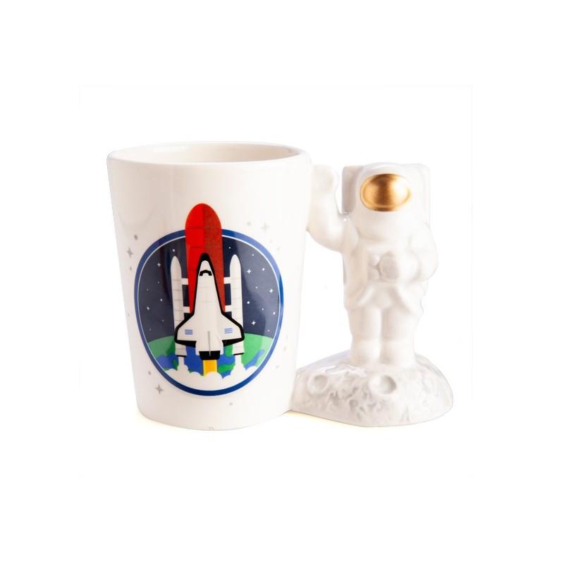 Astronaut 3D Handle Mug
