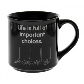 Golf Important Choices Mug