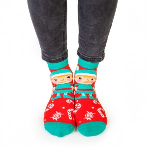 Christmas Elf Feet Speak Socks