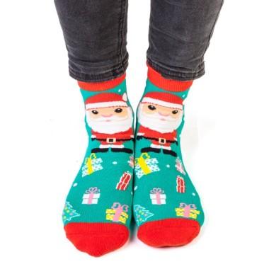 Christmas Santa Feet Speak...