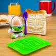 Buzz Lightyear Egg Cup and Toast Cutter Set