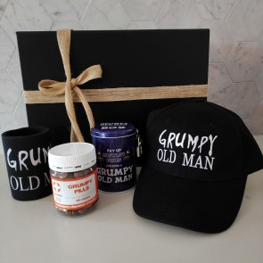 Grumpy Old Man Gift in a Box