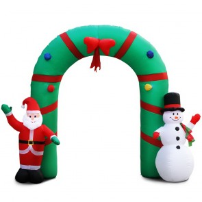 Giant Inflatable Santa And...