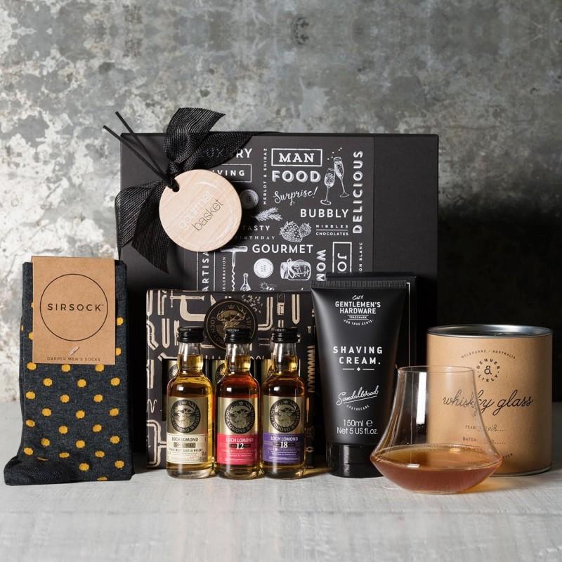 The Gentleman's Whisky Taster Gift Set