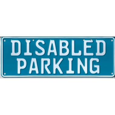 Disabled Parking Number...