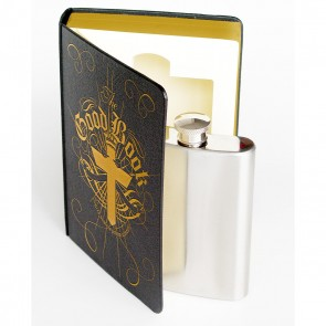 Secret Flask In A Book