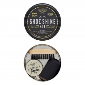 Travel Shoe Shine Tin by...