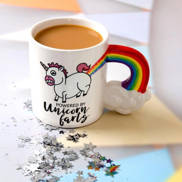 The Unicorn Farts Coffee Mug