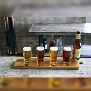 Beer Tasting Paddle with 4...