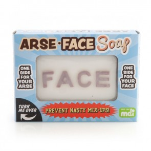 Arse and Face Novelty Soap