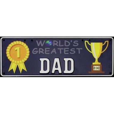 World's Greatest Dad...