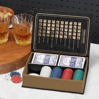 Classic Poker Set in Gift Box