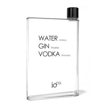 Cheeky A5 Flat Water Bottle